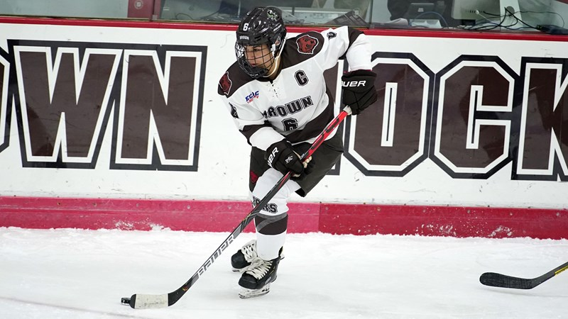 Women's Hockey Concludes Home Slate Against No. 1 Cornell and Colgate - Brown University Athletics